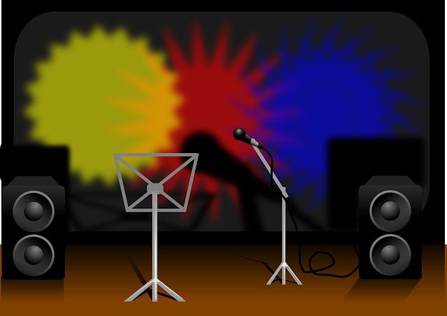 mikrofon, repráky