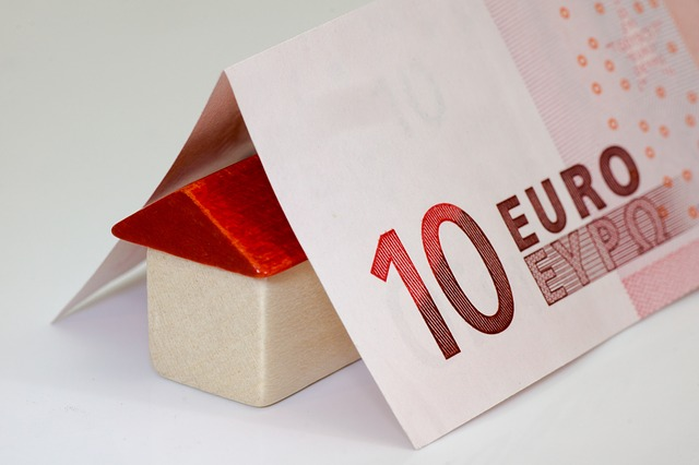 deset euro, domeček