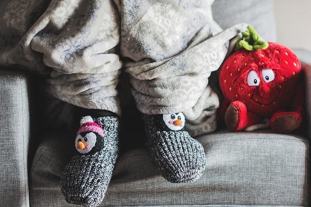 ponožky s tučňákem