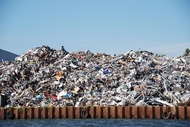 skladka odpadu