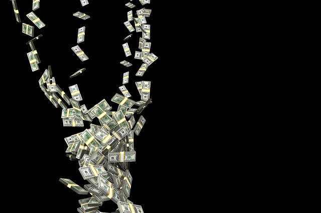 hurikán peníze